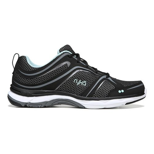 Womens Ryka Shift Walking Shoe - Black/Grey 10