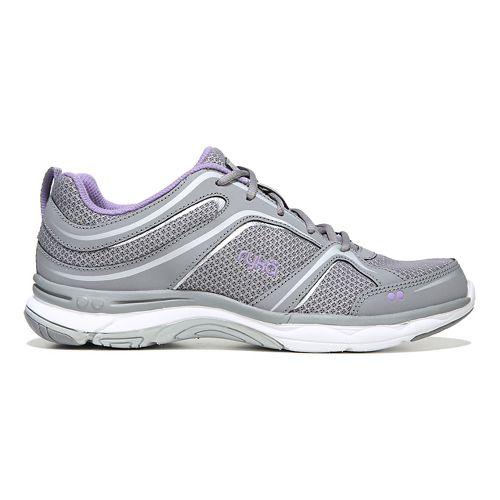 Womens Ryka Shift Walking Shoe - Grey/Silver 6.5