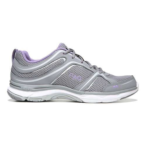 Womens Ryka Shift Walking Shoe - Grey/Silver 8