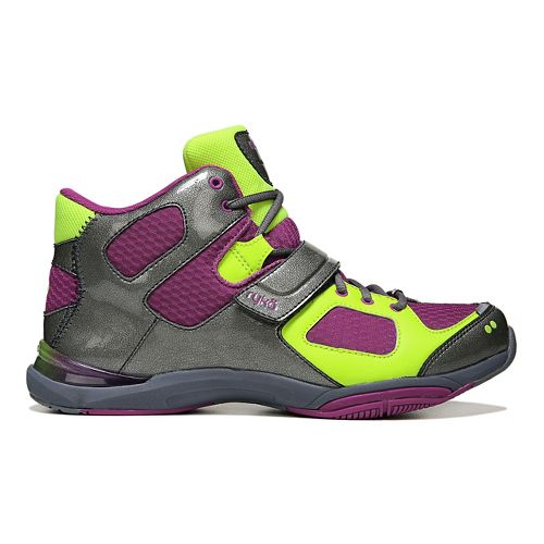 Womens Ryka Tenacious Cross Training Shoe - Wine/Grey 6