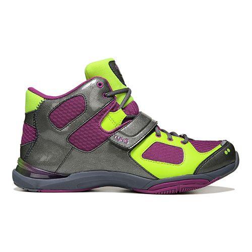Womens Ryka Tenacious Cross Training Shoe - Wine/Grey 7.5