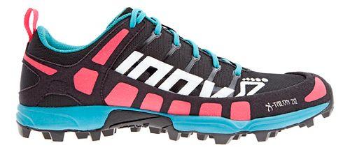 Womens Inov-8 X-Talon 212 (P) Trail Running Shoe - Black/Pink/Teal 6.5