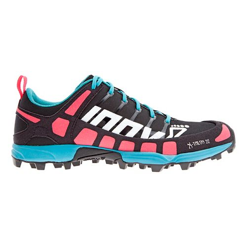 Womens Inov-8 X-Talon 212 (P) Trail Running Shoe - Black/Pink/Teal 6.5