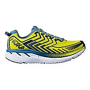 Mens Hoka One One Clifton 4 Running Shoe - Sulphur/Midnight 8