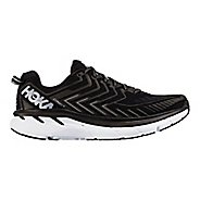 Womens Hoka One One Clifton 4 Running Shoe - Black/White 8