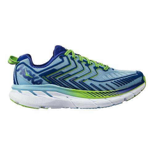 Womens Hoka One One Clifton 4 Running Shoe - Sky Blue/Surf 10