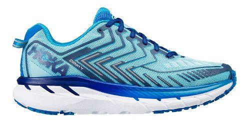 Womens Hoka One One Clifton 4 Running Shoe - Light Blue/Blue 5