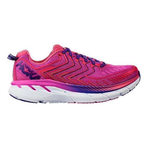 Womens Hoka One One Clifton 4 Running Shoe - Fuchsia/Pink 10.5
