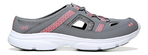 Womens Ryka Tisza Casual Shoe - Grey/Coral 8.5