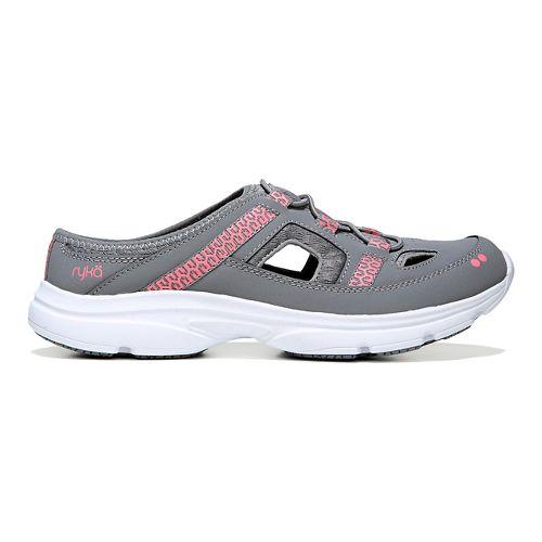 Womens Ryka Tisza Casual Shoe - Grey/Coral 5