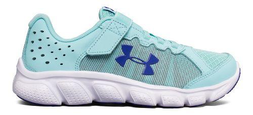 Kids Under Armour Assert 6 AC Running Shoe - Blue/White 12C
