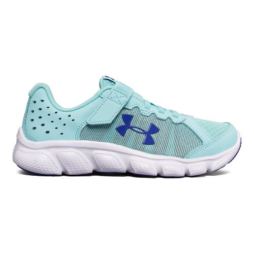 Kids Under Armour Assert 6 AC Running Shoe - Blue/White 13C