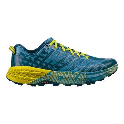 Mens Hoka One One Speedgoat 2 Trail Running Shoe - Midnight/Niagara 8