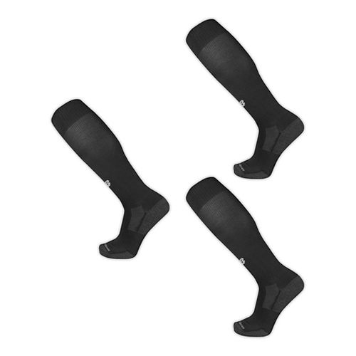 New Balance All Sport Over the Calf 3 Pack Socks - Black M