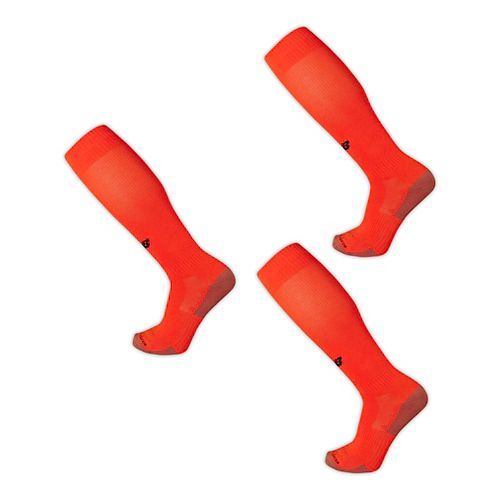 New Balance All Sport Over the Calf 3 Pack Socks - Red M