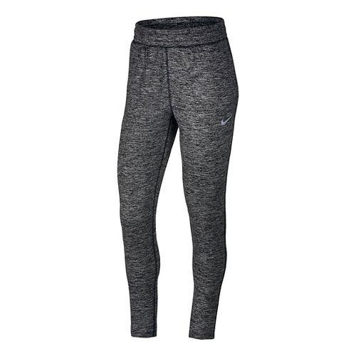 Womens Nike Dry Element Pants - Heather Black L