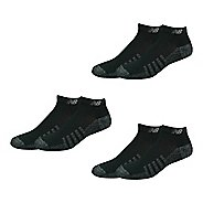New Balance Technical Elite Coolmax Low Cut 6 Pack Socks - Black M