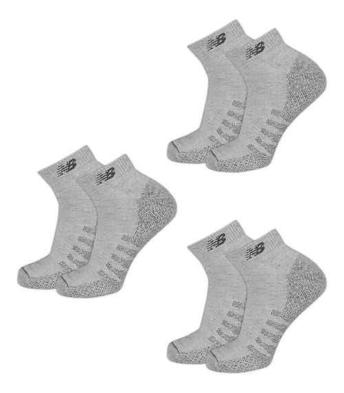 New Balance Technical Elite Coolmax Low Cut 6 Pack Socks - White S