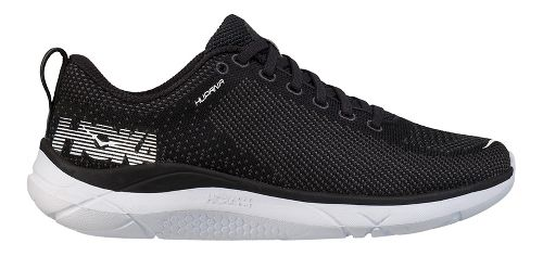 Mens Hoka One One Hupana Running Shoe - Black/White 10.5