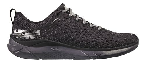 Mens Hoka One One Hupana Running Shoe - Black/Black 14