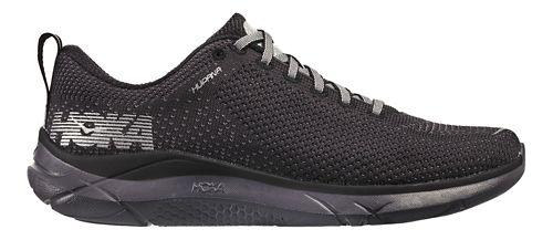 Mens Hoka One One Hupana Running Shoe - Black/Black 8