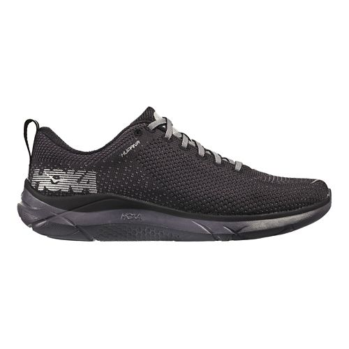 Mens Hoka One One Hupana Running Shoe - Black/Black 13