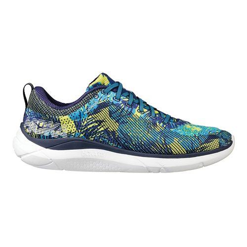 Mens Hoka One One Hupana Running Shoe - Blue/Yellow 9