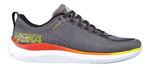 Mens Hoka One One Hupana Running Shoe - Grey/Orange 9.5