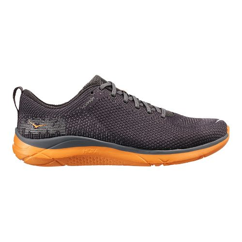 Mens Hoka One One Hupana Running Shoe - Black/Black 11