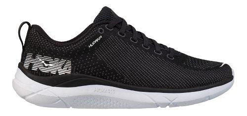 Womens Hoka One One Hupana Running Shoe - Black/White 5.5