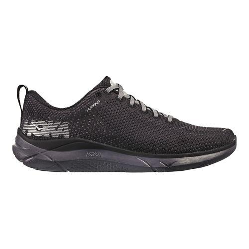 Womens Hoka One One Hupana Running Shoe - Black/Pearl 7.5