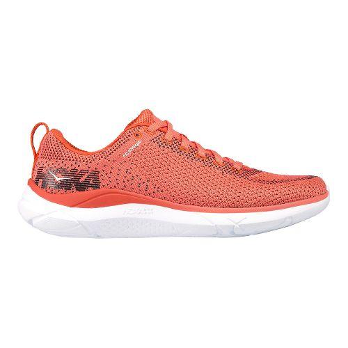 Womens Hoka One One Hupana Running Shoe - Coral 9.5