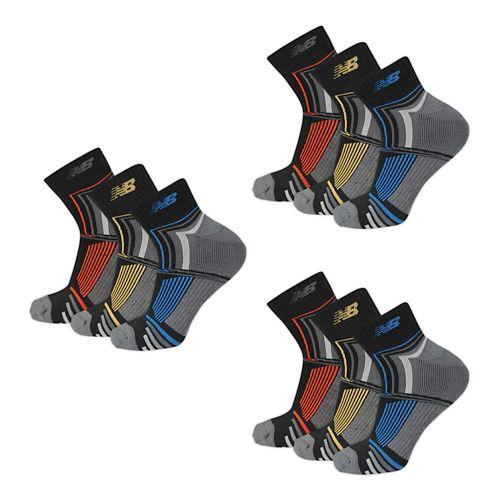 New Balance Performance Ankle 9 Pack Socks - Black L