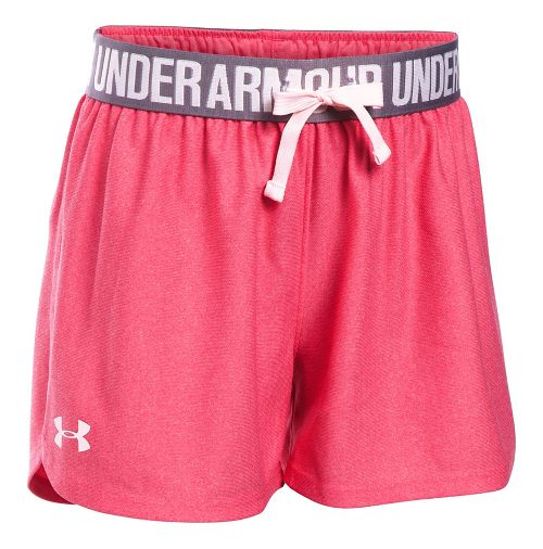 Under Armour Girls Play Up Unlined Shorts - Gala/Flint YS