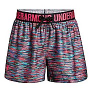 Under Armour Girls Play Up Printed Unlined Shorts