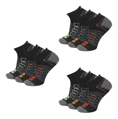 New Balance Unisex Performance Low Cut 9 Pack Socks - White L