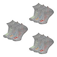 New Balance Unisex Performance Low Cut 9 Pack Socks - Grey L