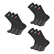 Womens New Balance Core Cotton Crew 9 Pack Socks