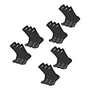 Womens New Balance Core Cotton Crew 18 Pack Socks