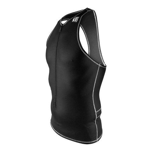 Mens De Soto Liftfoil3 Swim Skin Sleeveless & Tank Tops Technical Tops - Black XL
