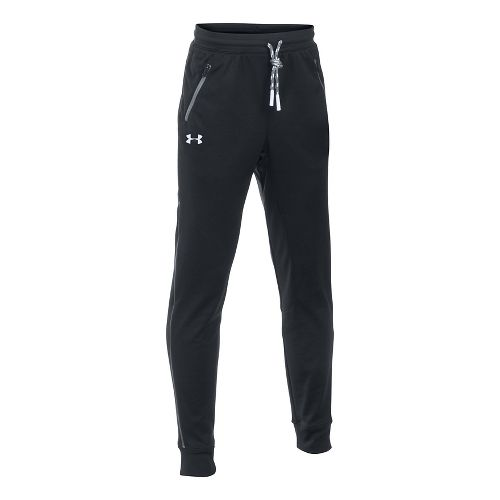 Under Armour Boys Pennant Tapered Pants - Black YL