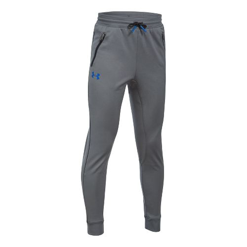 Under Armour Boys Pennant Tapered Pants - Graphite/Black YXS