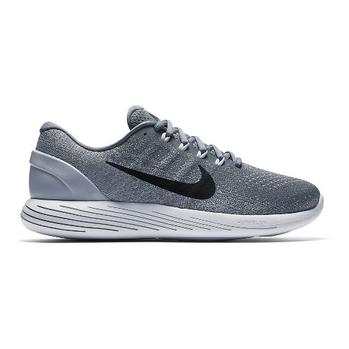 Mens Nike LunarGlide 9 Running Shoe - Grey 10.5