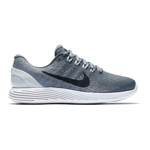 Womens Nike LunarGlide 9 Running Shoe - Black/White 10.5