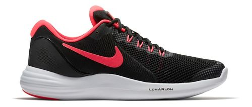 Kids Nike Lunar Apparent Running Shoe - Black/Pink 5.5Y