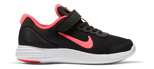Kids Nike Lunar Apparent Running Shoe - Black/Pink 12C