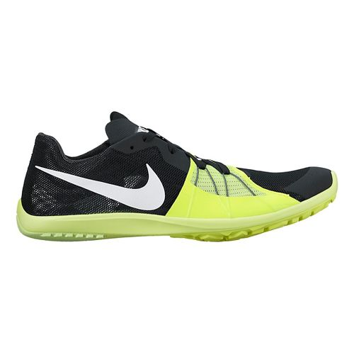 Nike Zoom Forever Waffle 5 Cross Country Shoe - Black/Volt 11.5