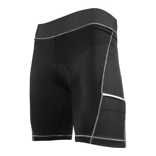 Womens De Soto 400-Mile Cycling Shorts - Black/White XS