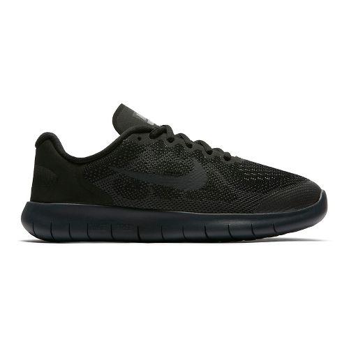 Kids Nike Free RN 2017 Running Shoe - Black/Black 6.5Y