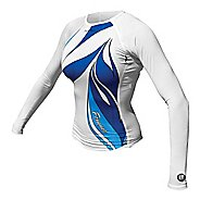 Womens De Soto Skin Cooler Long Sleeve Technical Tops